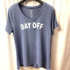 "State of mine ""Day off"" Shirt High Low Size Large"